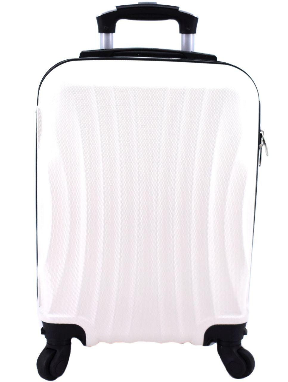 Cestovní palubní kufr Arteddy / 4 kolečka (XS) 30l - krémová 6020 (XS)