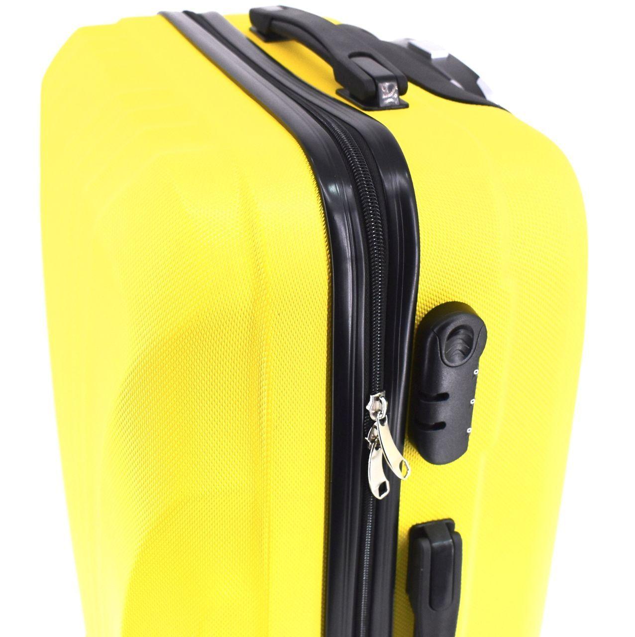 Cestovní palubní kufr Arteddy / 4 kolečka (S) 40l - světle růžová 6020 (S)