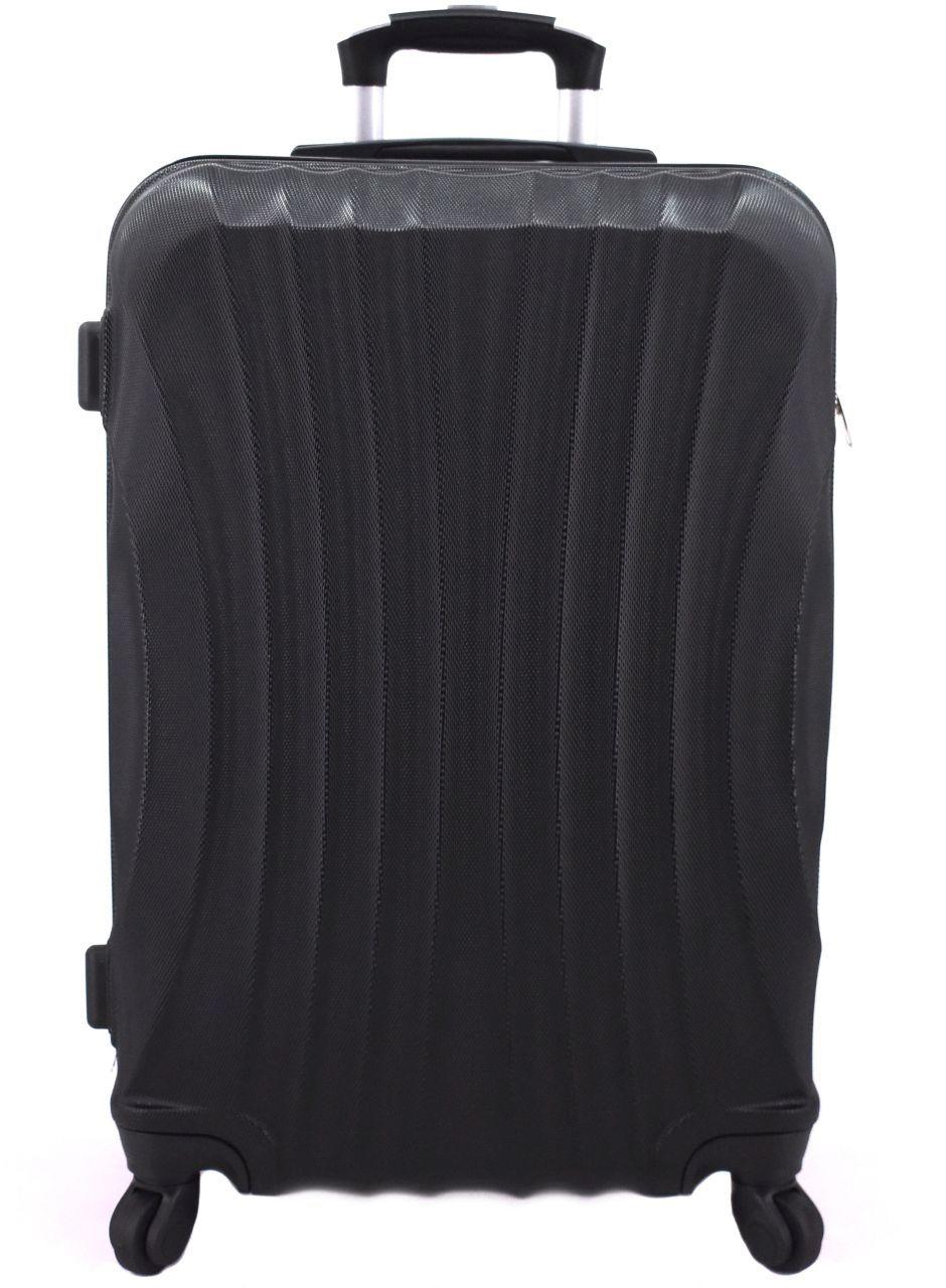 Cestovní skořepina kufr na čtyřech kolečkách Arteddy - (M) 60l černá 6020 (M)