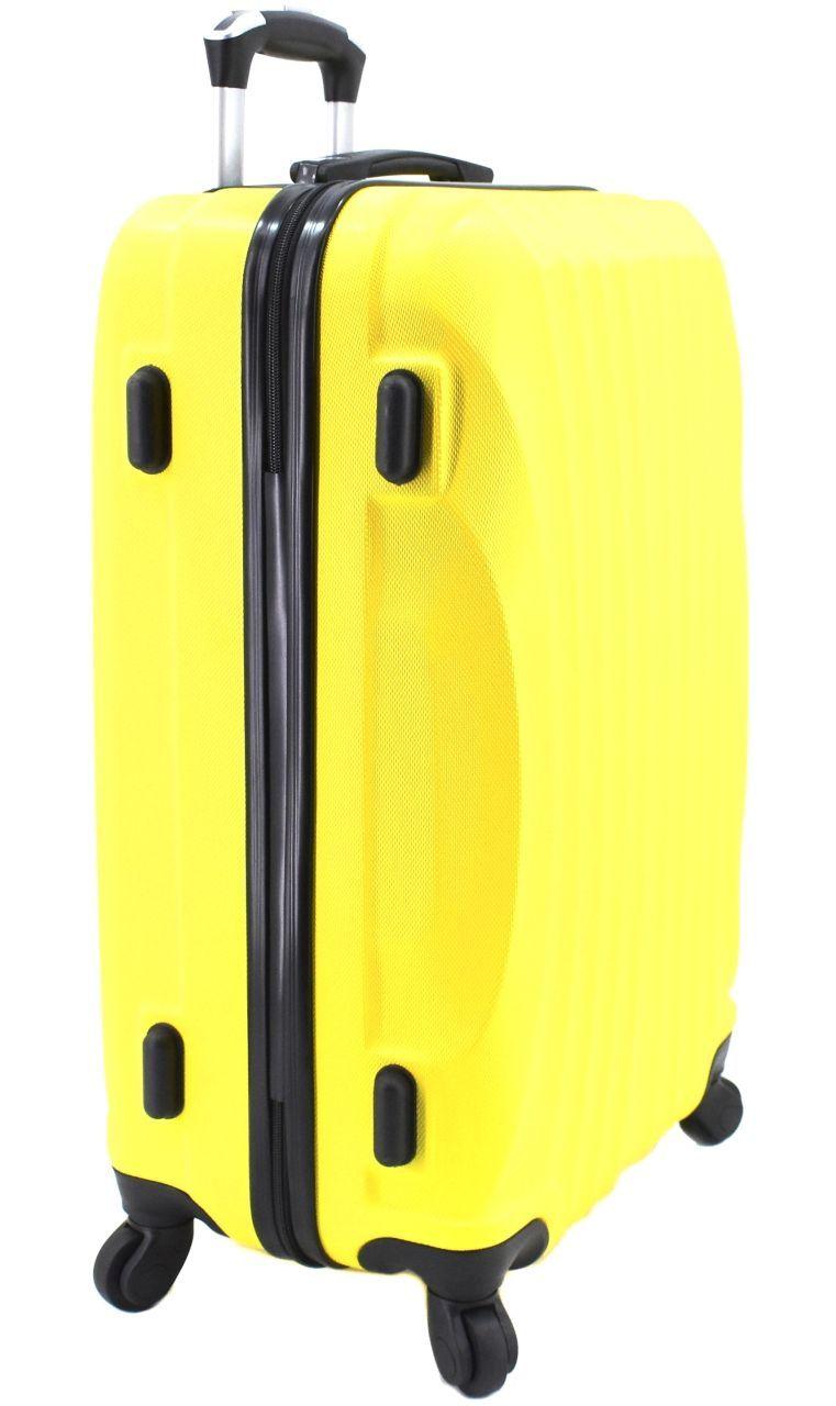 Cestovní skořepina kufr na čtyřech kolečkách Arteddy - (L) 90l růžová 6020 (L)