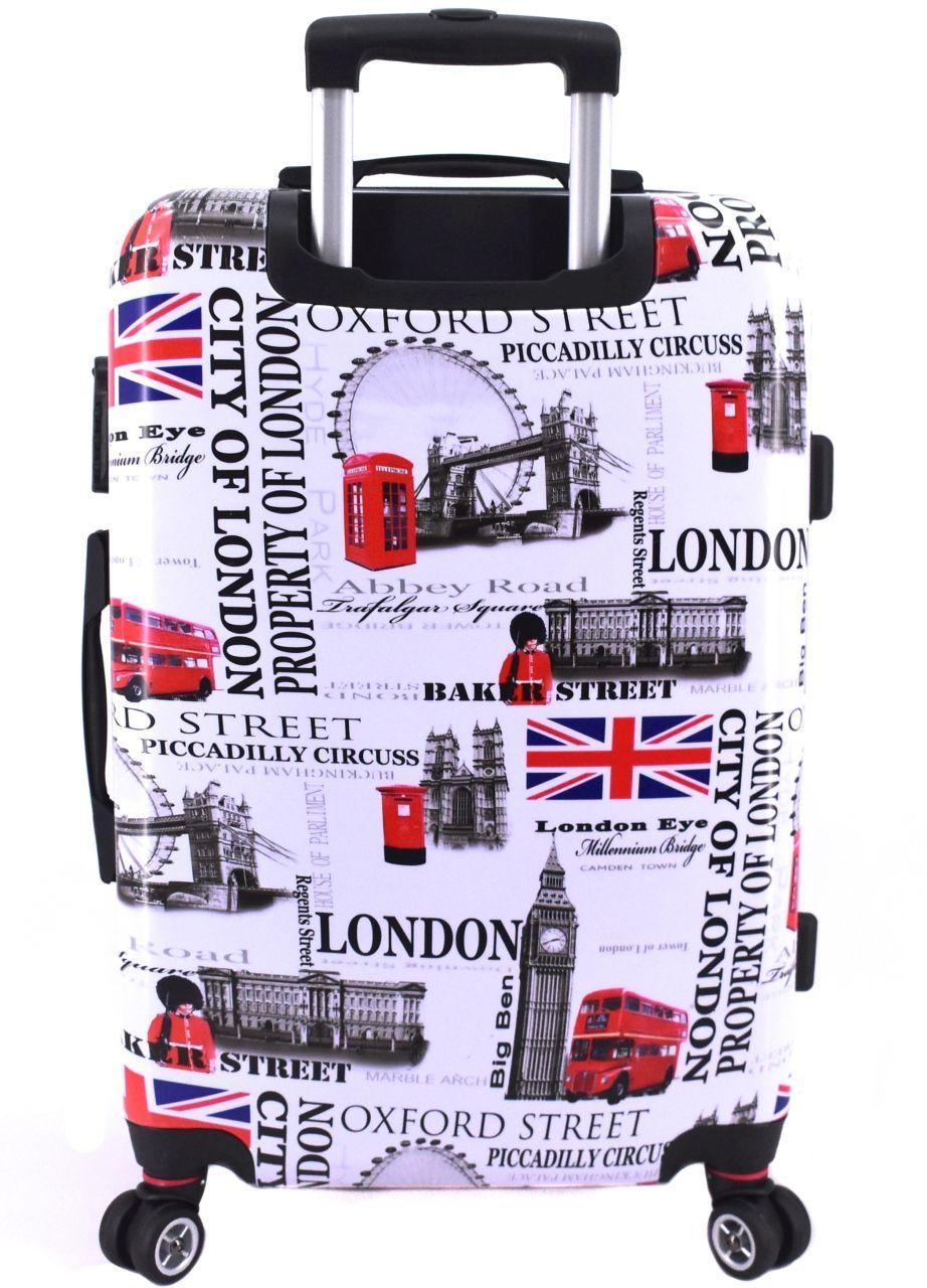 Cestovní kufr skořepinový na čtyřech kolečkách Arteddy - Meter Flag (L) 100l 1191 Meter Flag (L)