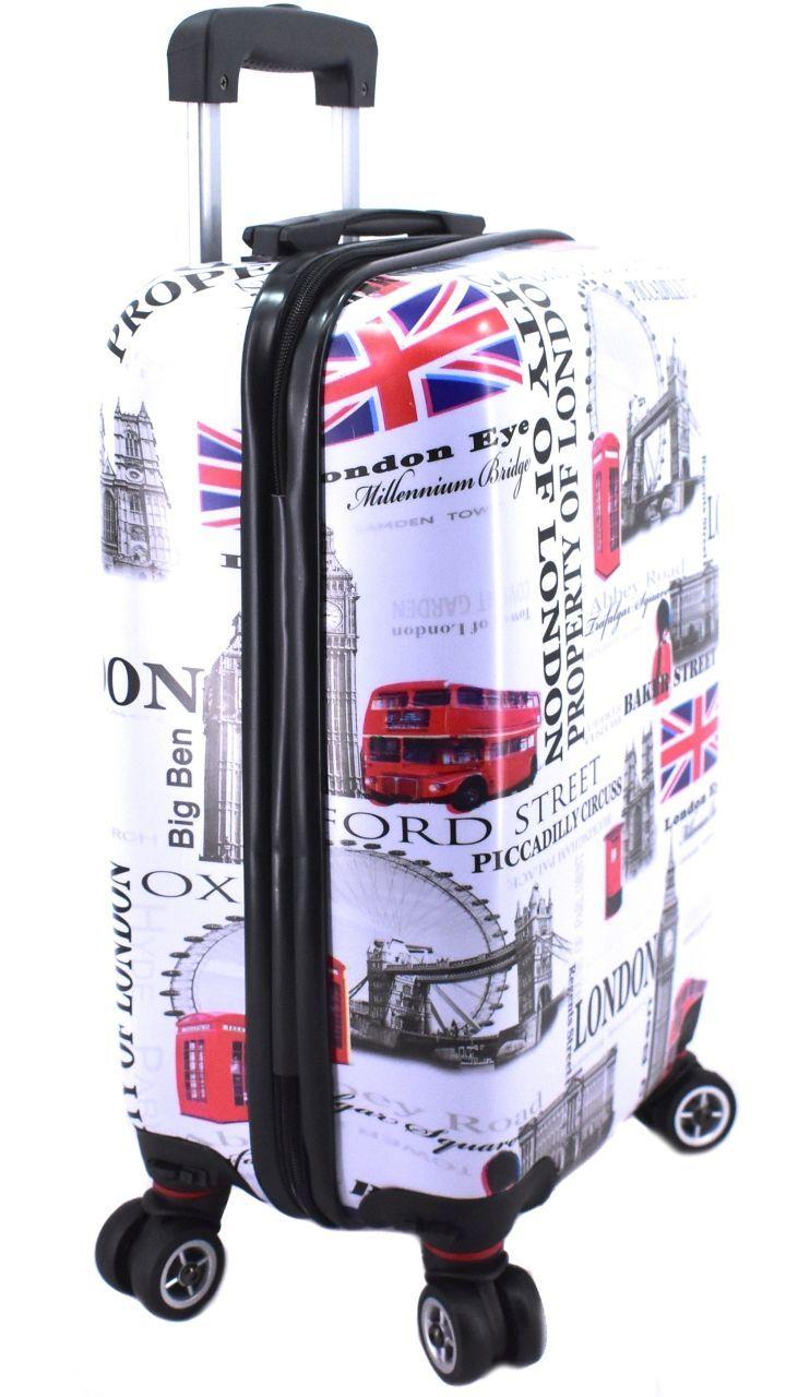 Cestovní palubní kufr skořepinový na čtyřech kolečkách Arteddy - Meter Flag 30l (XS) 1191 Meter Flag (XS)