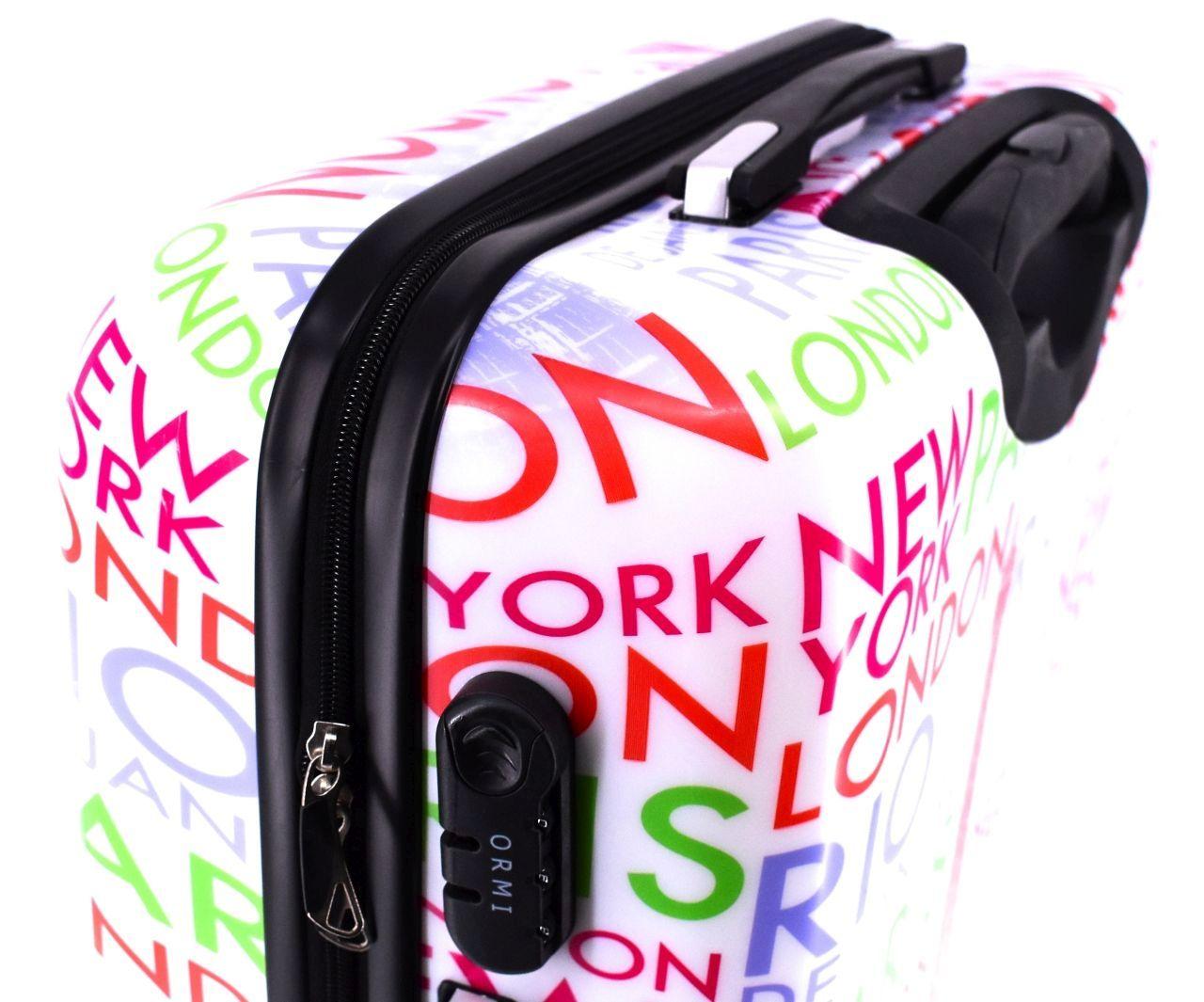 Cestovní palubní kufr skořepinový na čtyřech kolečkách ORMI - Tower Goddess (S) 45l 858 Tower Goddess (S)