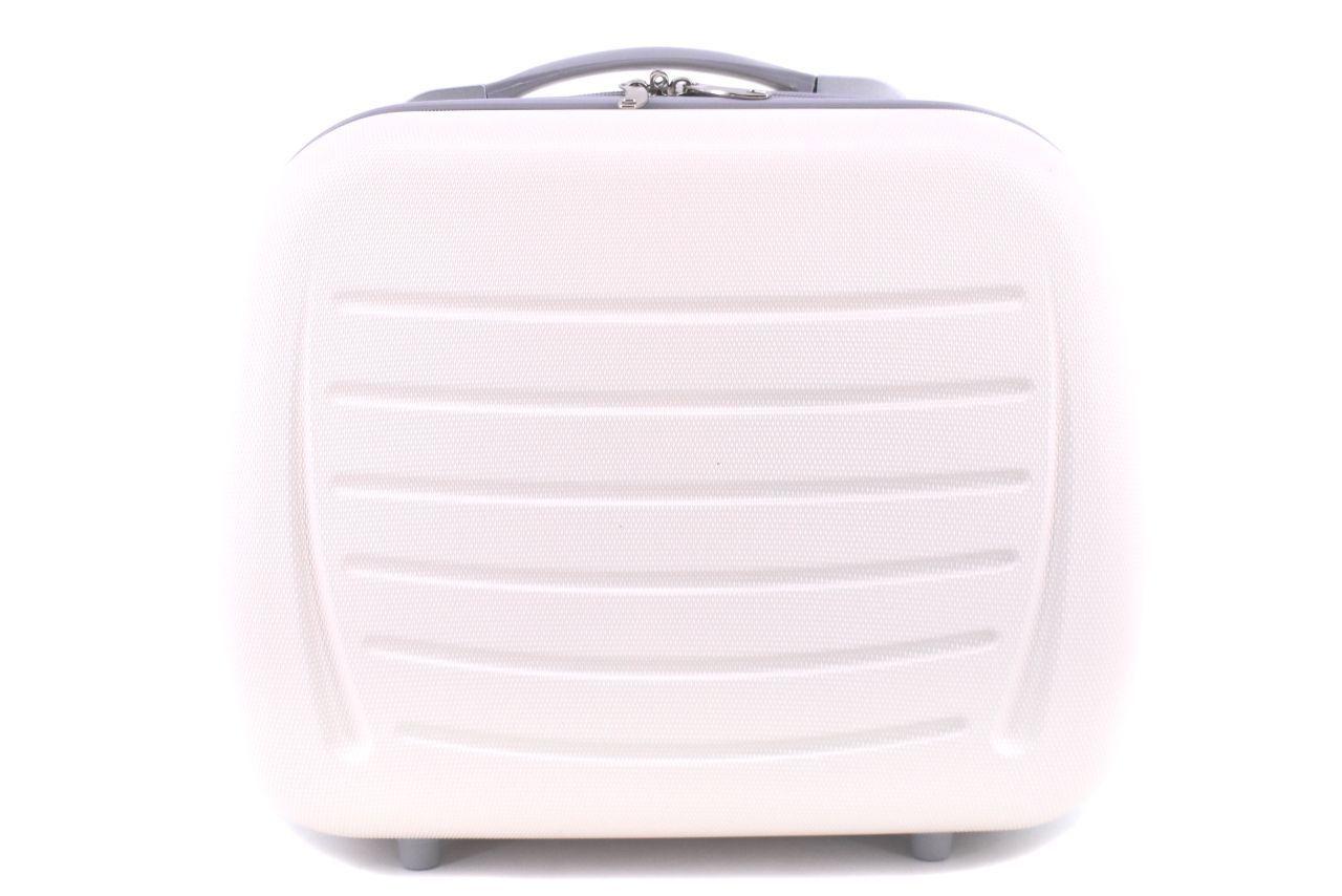 Kosmetický palubní příruční kufr Arteddy - krémová 40877