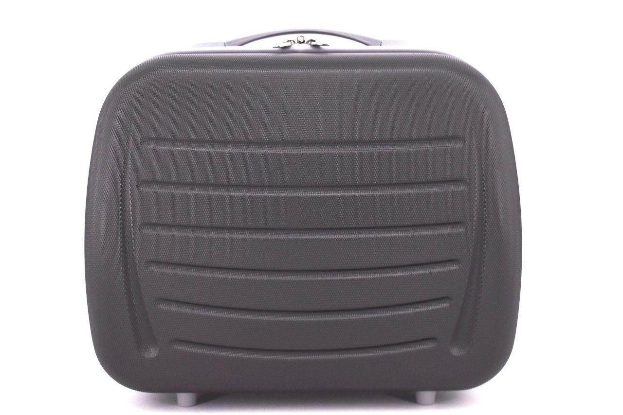 Kosmetický palubní příruční kufr Arteddy - tmavě šedá 40877