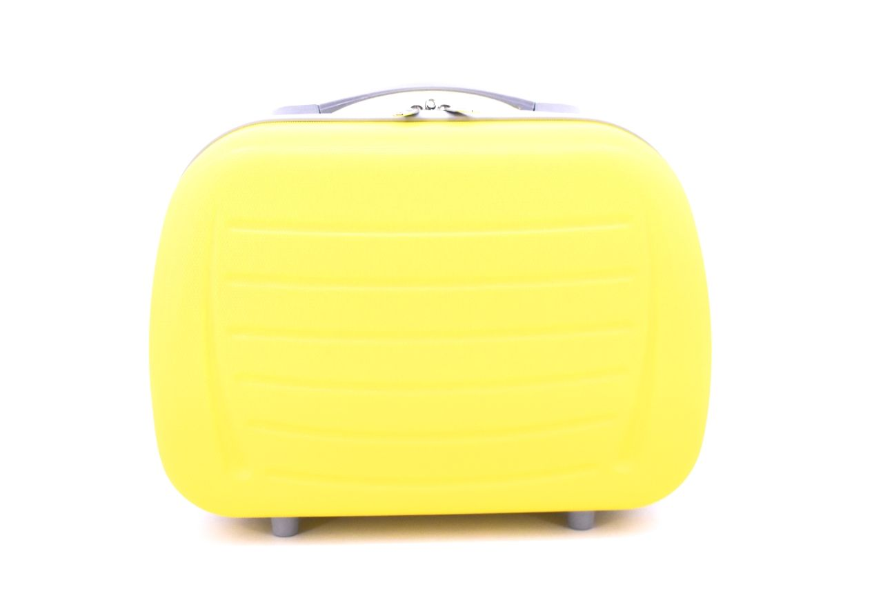 Kosmetický palubní příruční kufr Arteddy - žlutá 40878