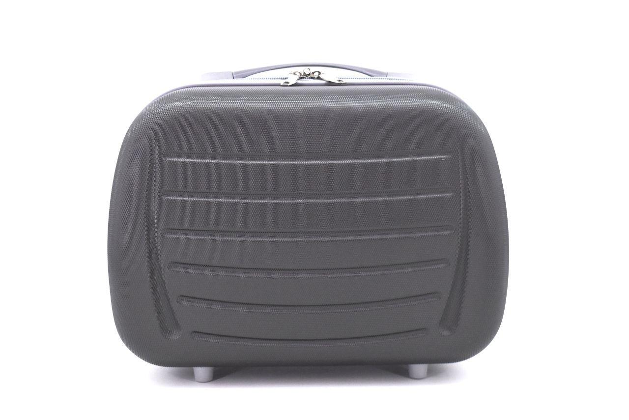 Kosmetický palubní příruční kufr Arteddy - tmavě šedá 40878