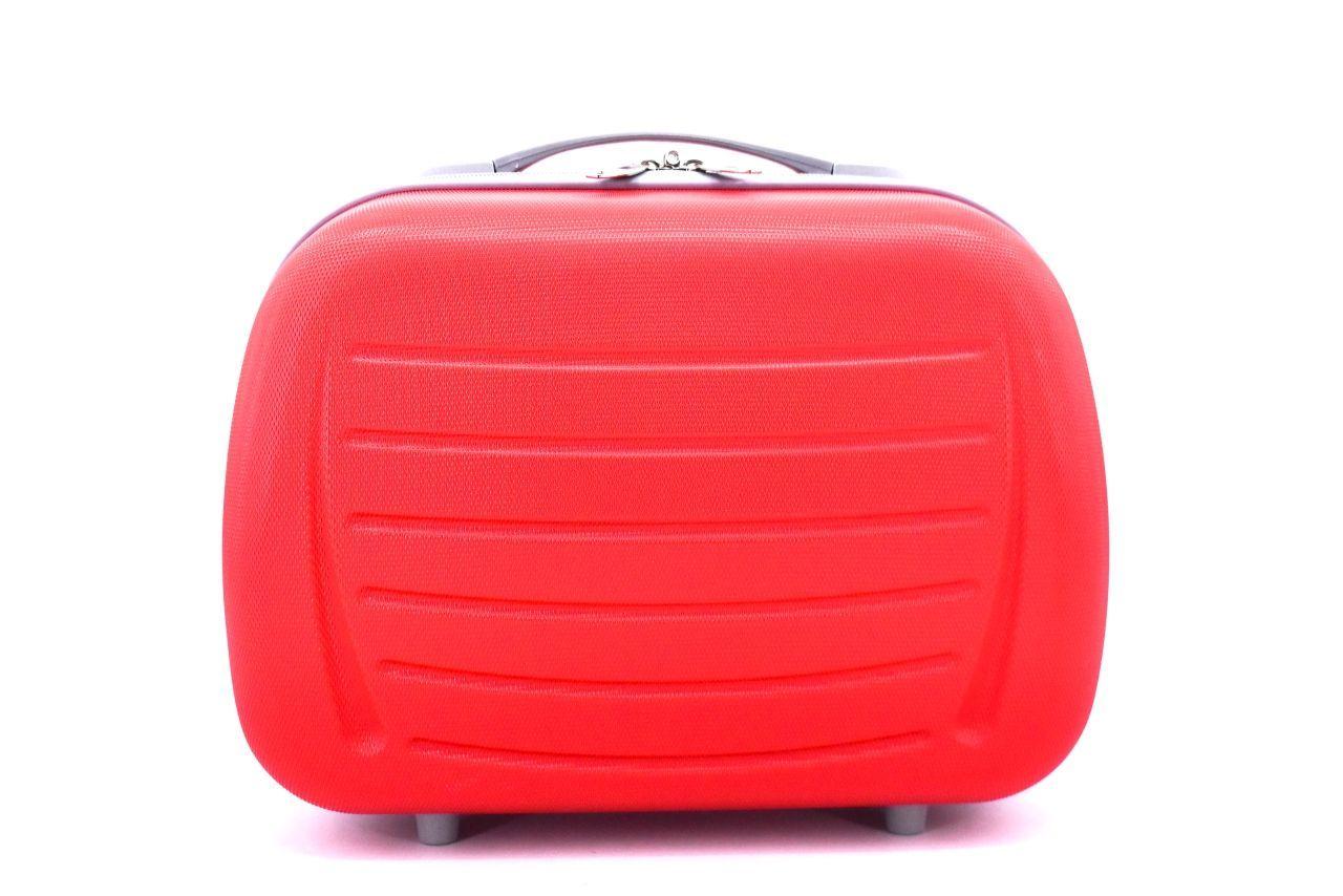 Kosmetický palubní příruční kufr Arteddy - červená 40878