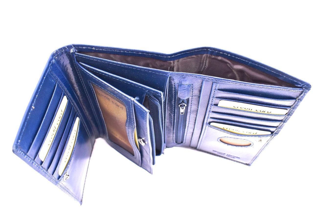 Dámská kožená peněženka Arteddy - černá 32200