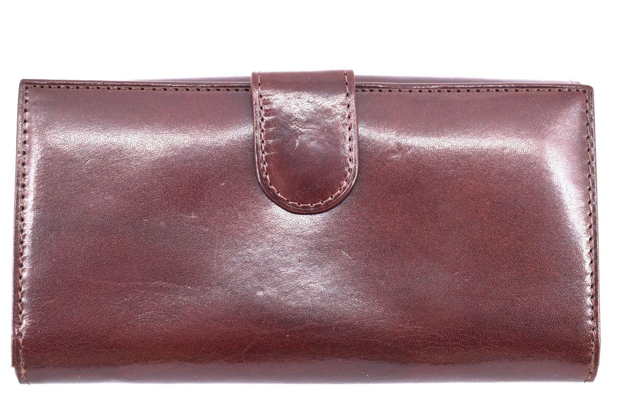 Dámská kožená peněženka černá 39783