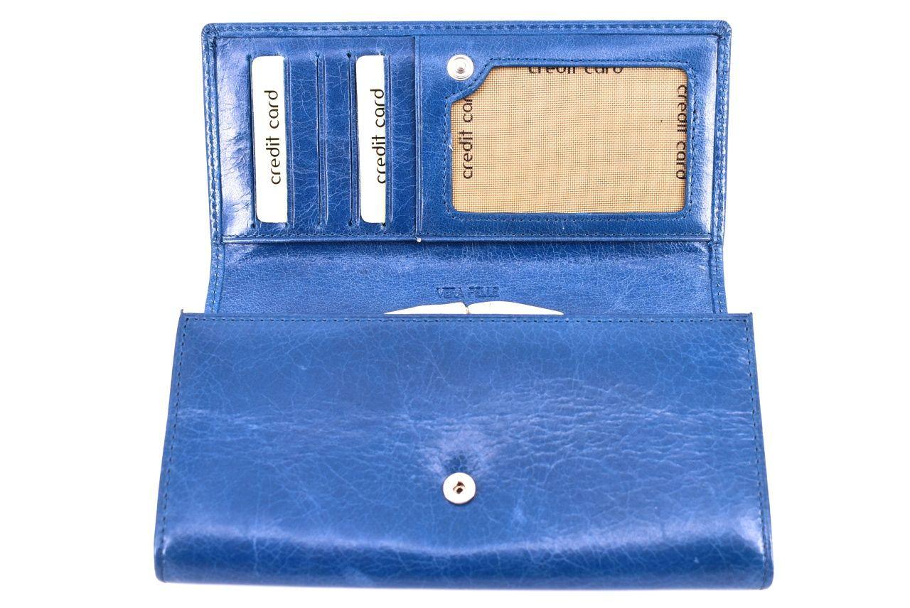 Dámská kožená peněženka Arteddy -černá 32202
