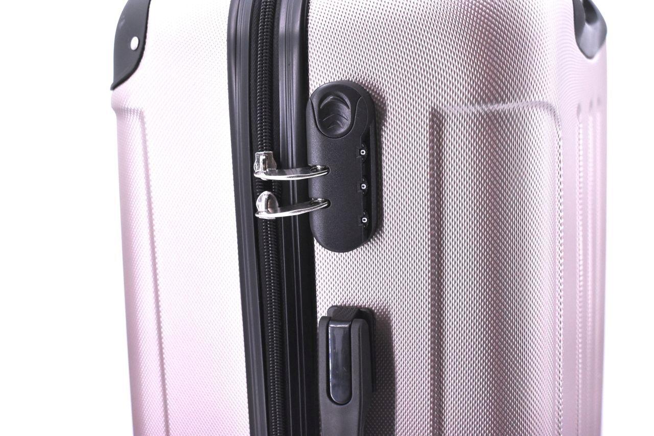 Cestovní palubní kufr na čtyřech kolečkách Arteddy - (S) 40l červená 6016 (S)