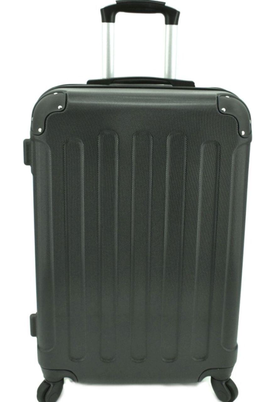 Cestovní palubní kufr na čtyřech kolečkách Arteddy - (S) 40l černá 6016 (S)