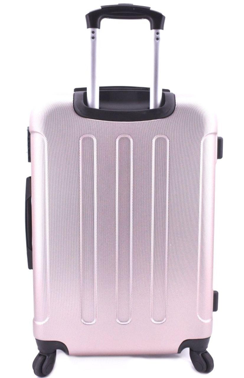 Cestovní skořepina kufr na čtyřech kolečkách Arteddy - (M) 60l tmavě šedá 6016 (M)