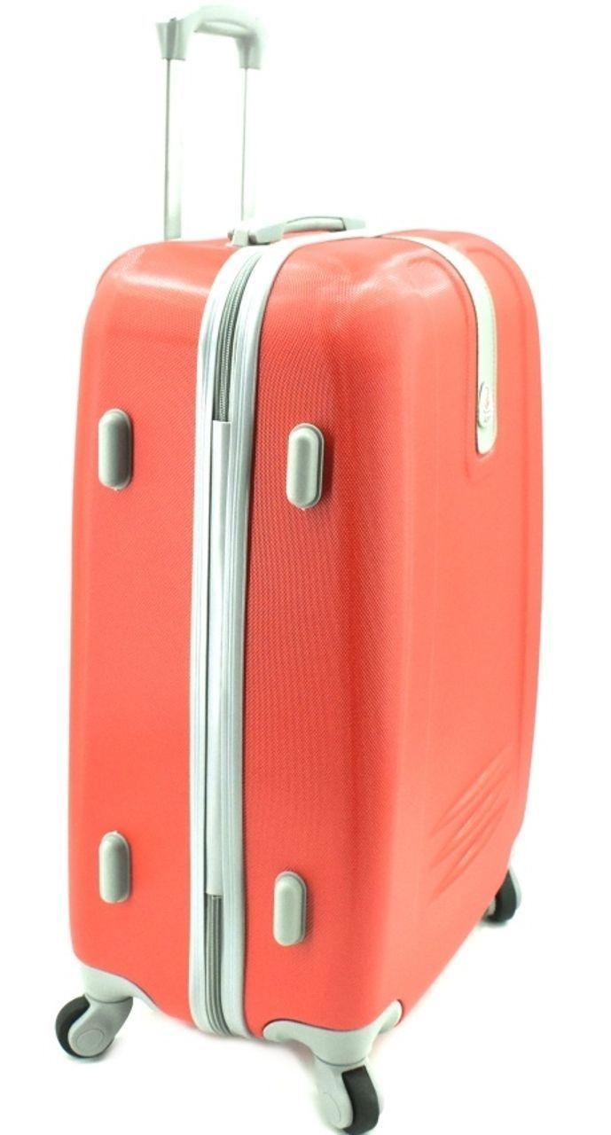 Cestovní palubní kufr Agrado / 4 kolečka - tmavě šedá (S) 40l 6168 (S)