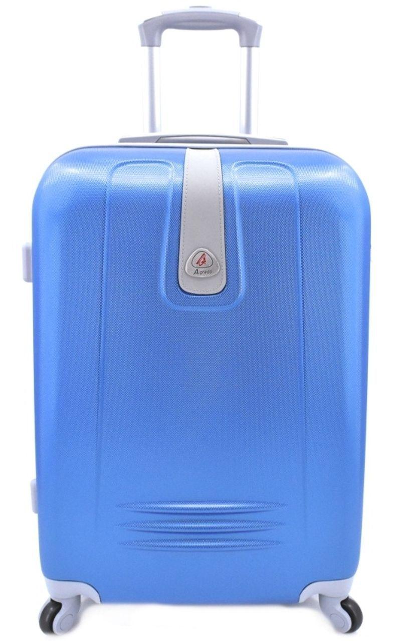 Cestovní palubní kufr Agrado / 4 kolečka - modrá (S) 40l 6168 (S)