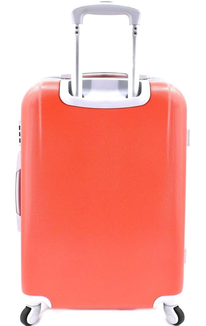 Cestovní kufr Agrado / 4 kolečka - černá (M) 60l 6168 (M)