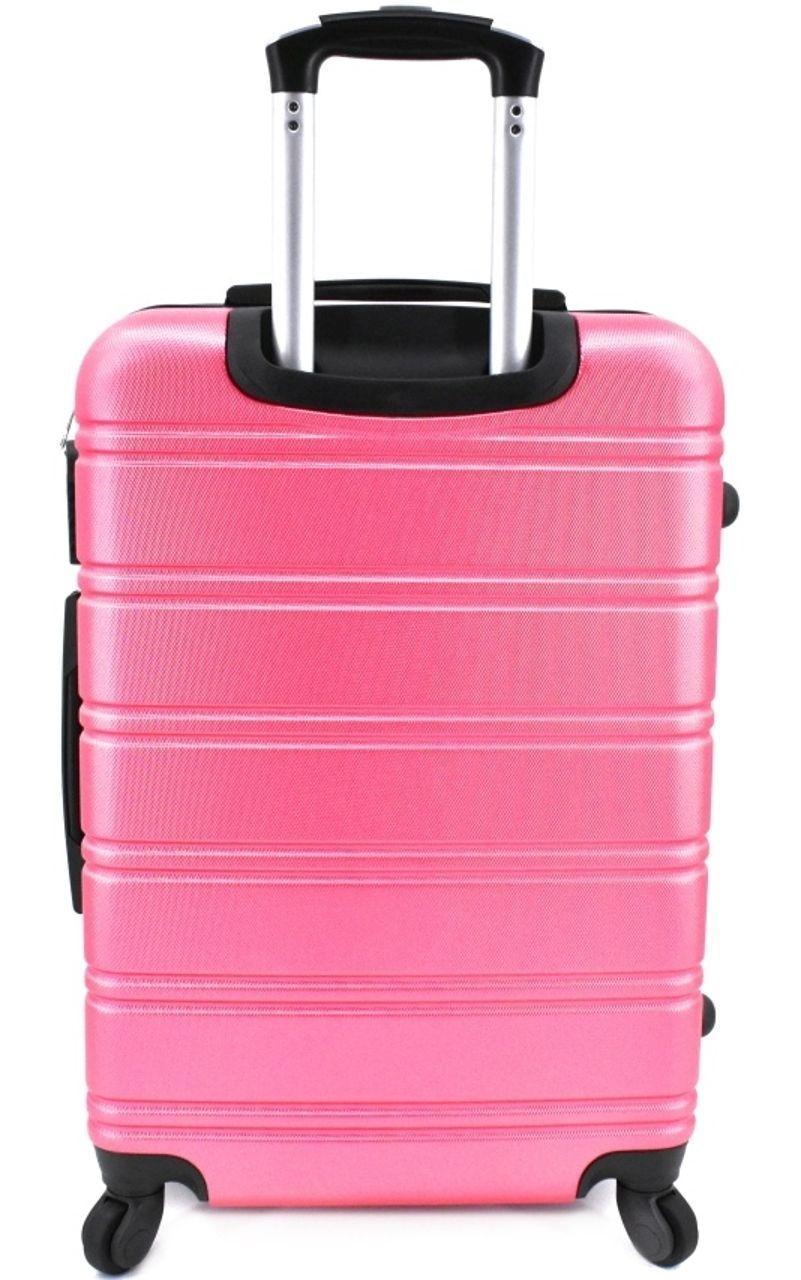 Cestovní palubní kufr skořepinový na čtyřech kolečkách Agrado - (S) modrá 6019 (S)