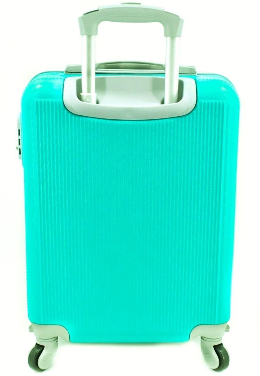 Cestovní palubní kufr na čtyřech kolečkách Arteddy (S) 36l - zelená 6017 (S)