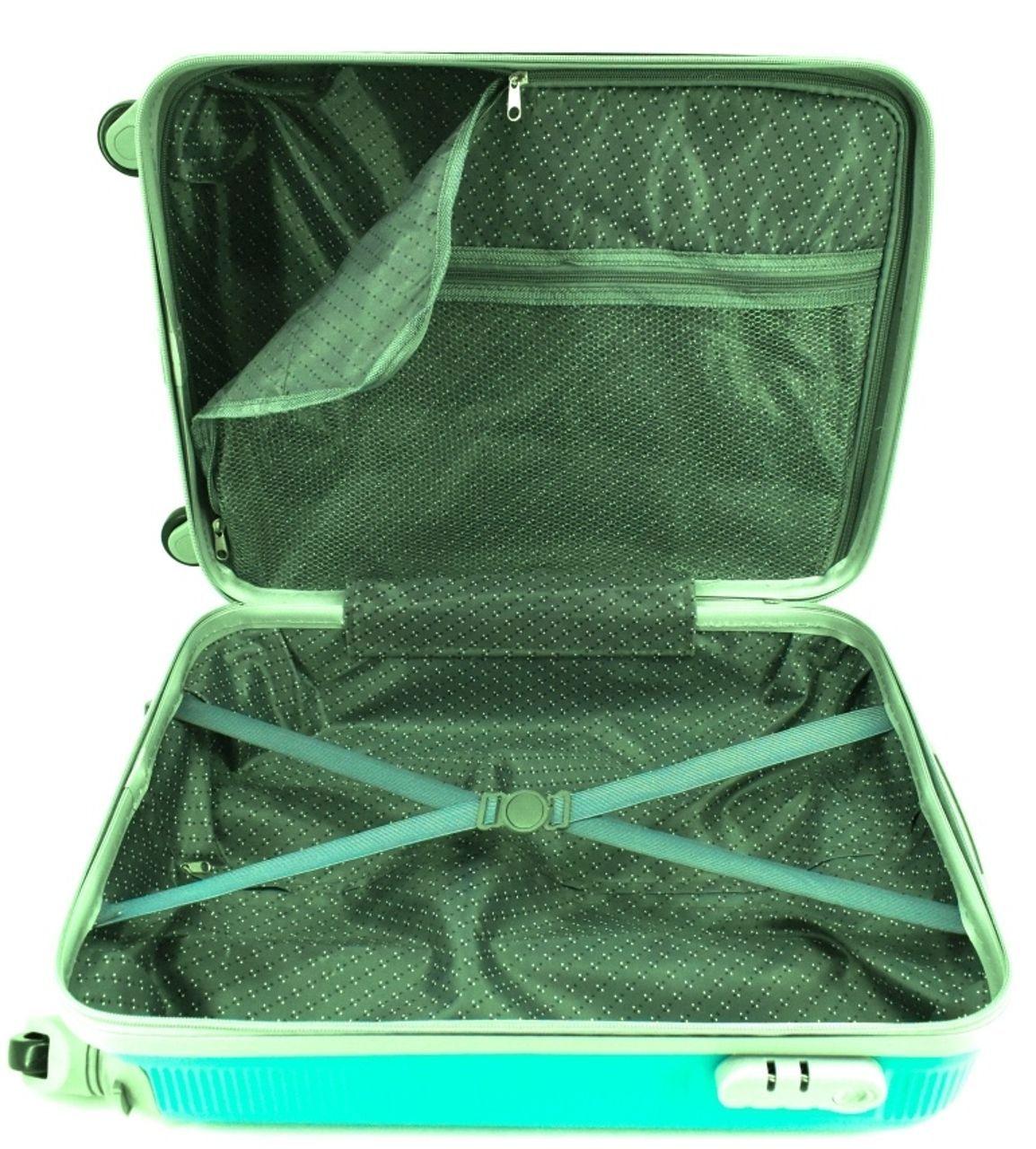 Cestovní palubní kufr na čtyřech kolečkách Arteddy (S) 36l - černá