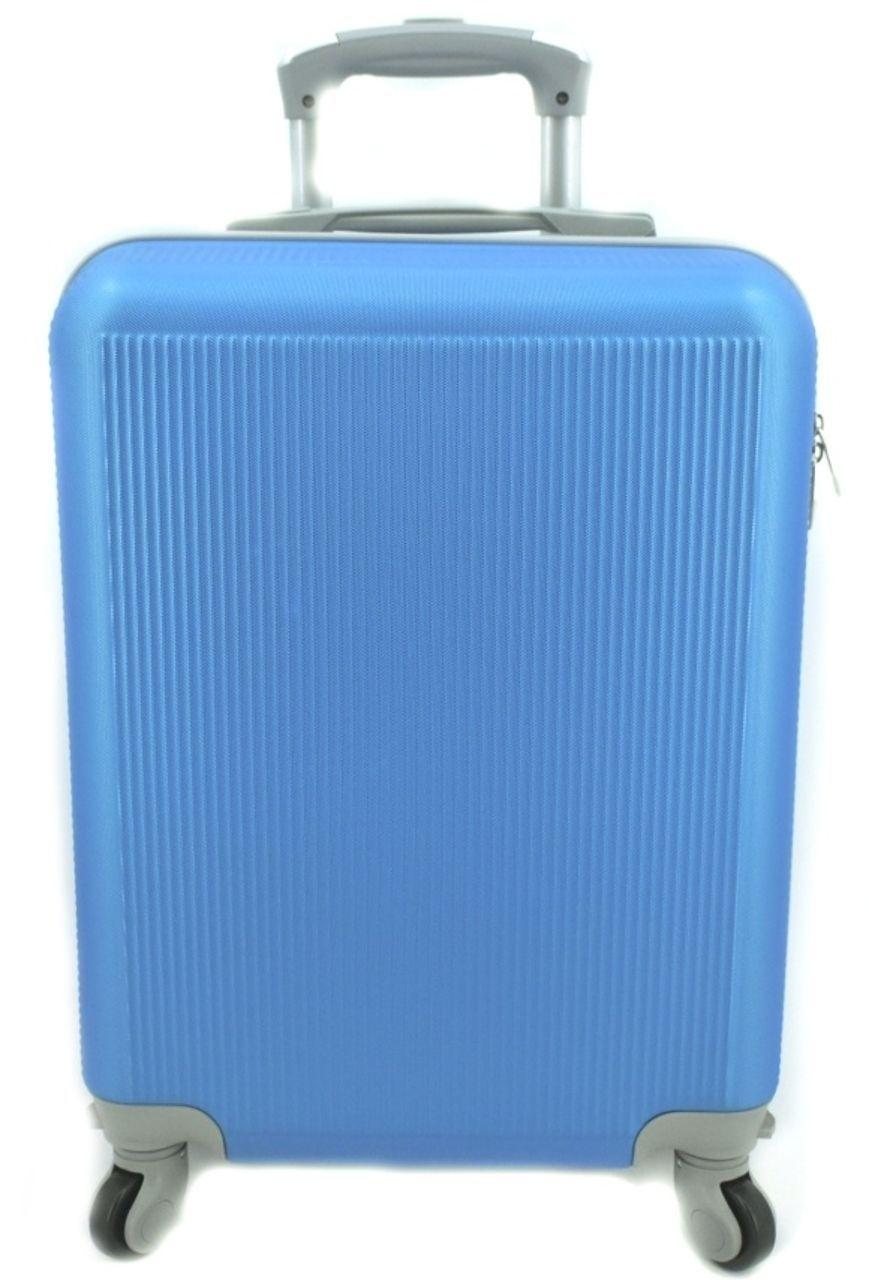 Cestovní palubní kufr na čtyřech kolečkách Arteddy (S) 36l - modrá 6017 (S)