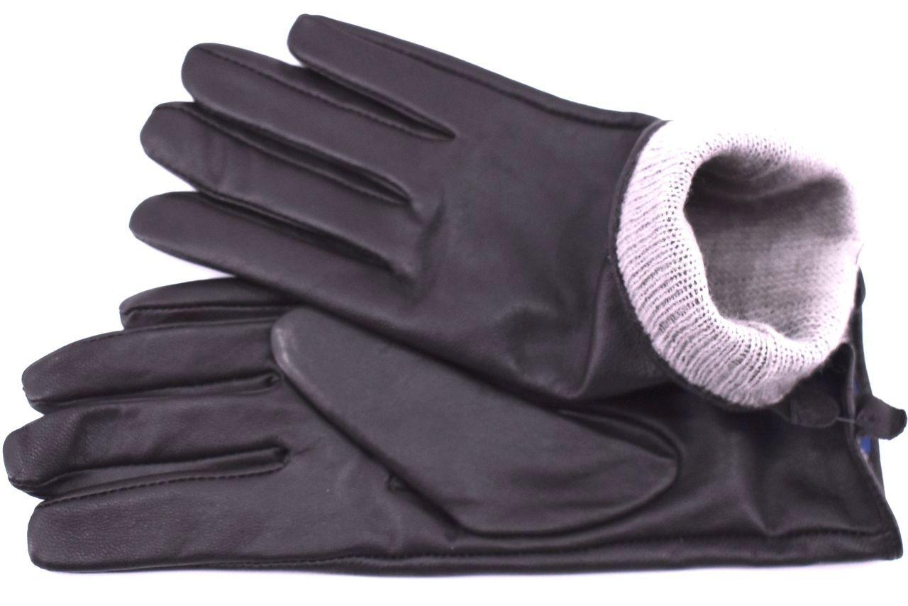 Dámské prodloužené kožené rukavice Every - tmavě hnědá (XL)