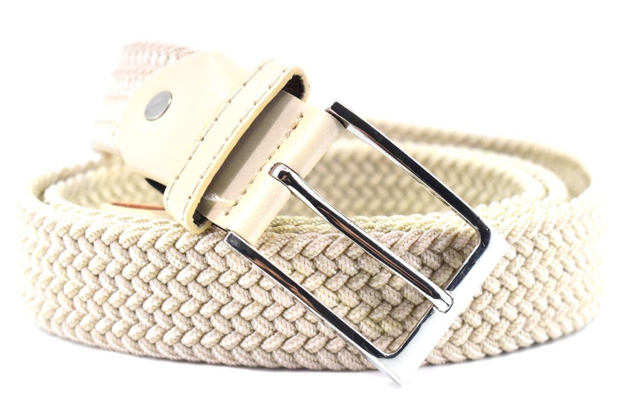 Jednobarevný elastický opasek Arteddy - krémová 120 38506