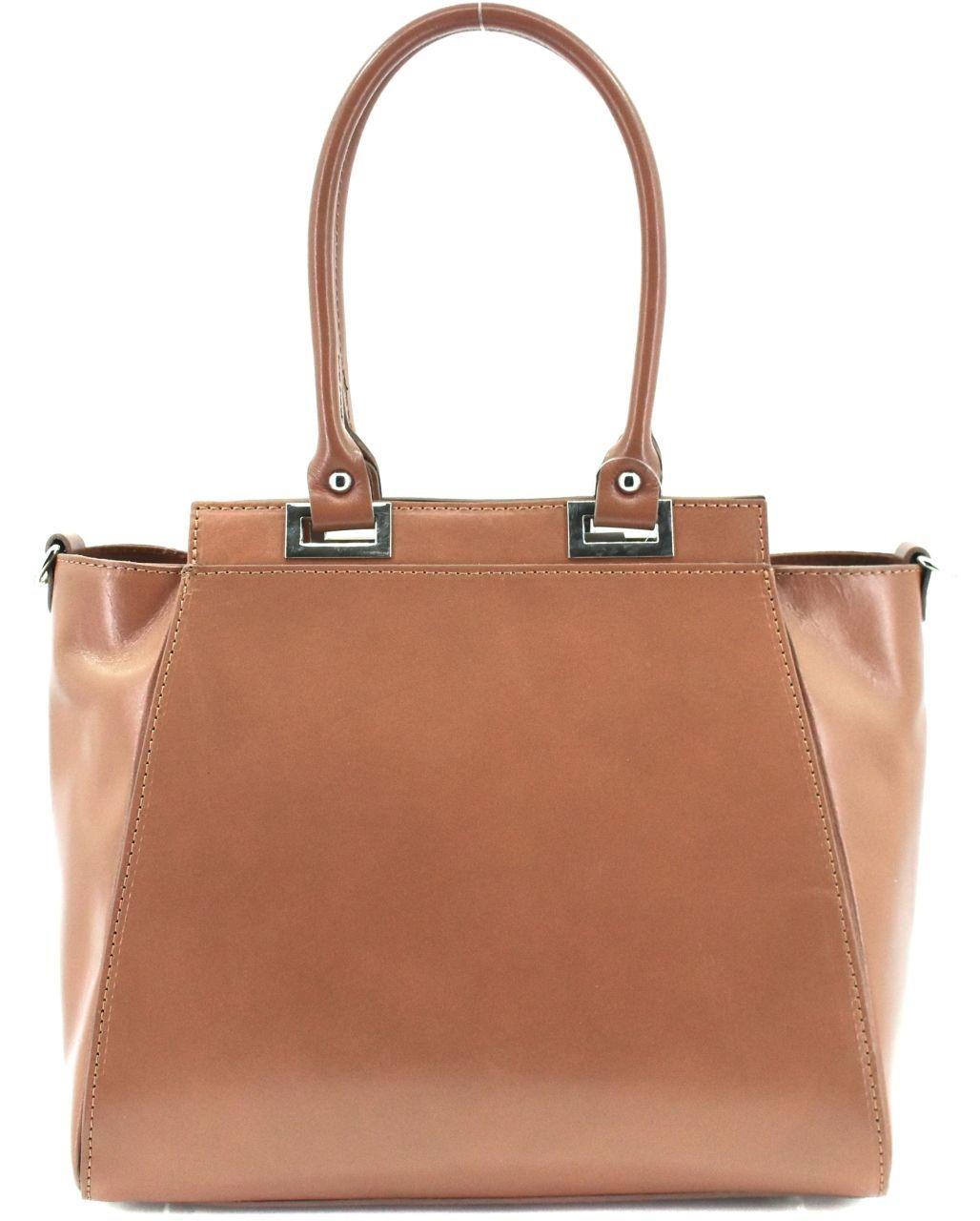 Dámská kožená kabelka Arteddy - béžová 29567