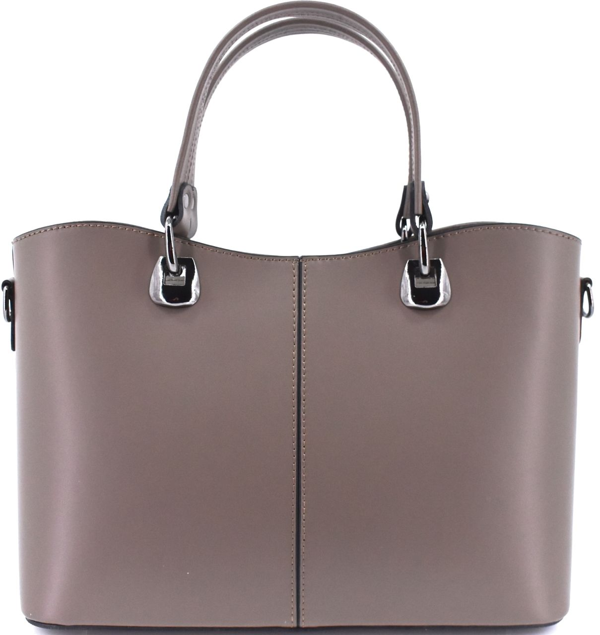 Dámská kožená kabelka Arteddy - taupe 36903