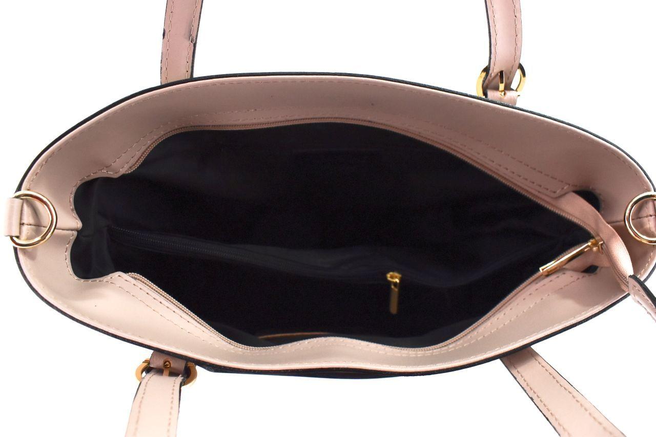 Moderní dámská kožená kabelka Arteddy - bílá 40918