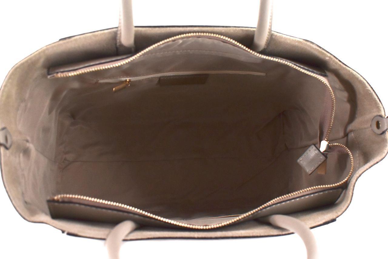 Moderní Shopper dámská kožená kabelka Arteddy - světle hnědá 32454