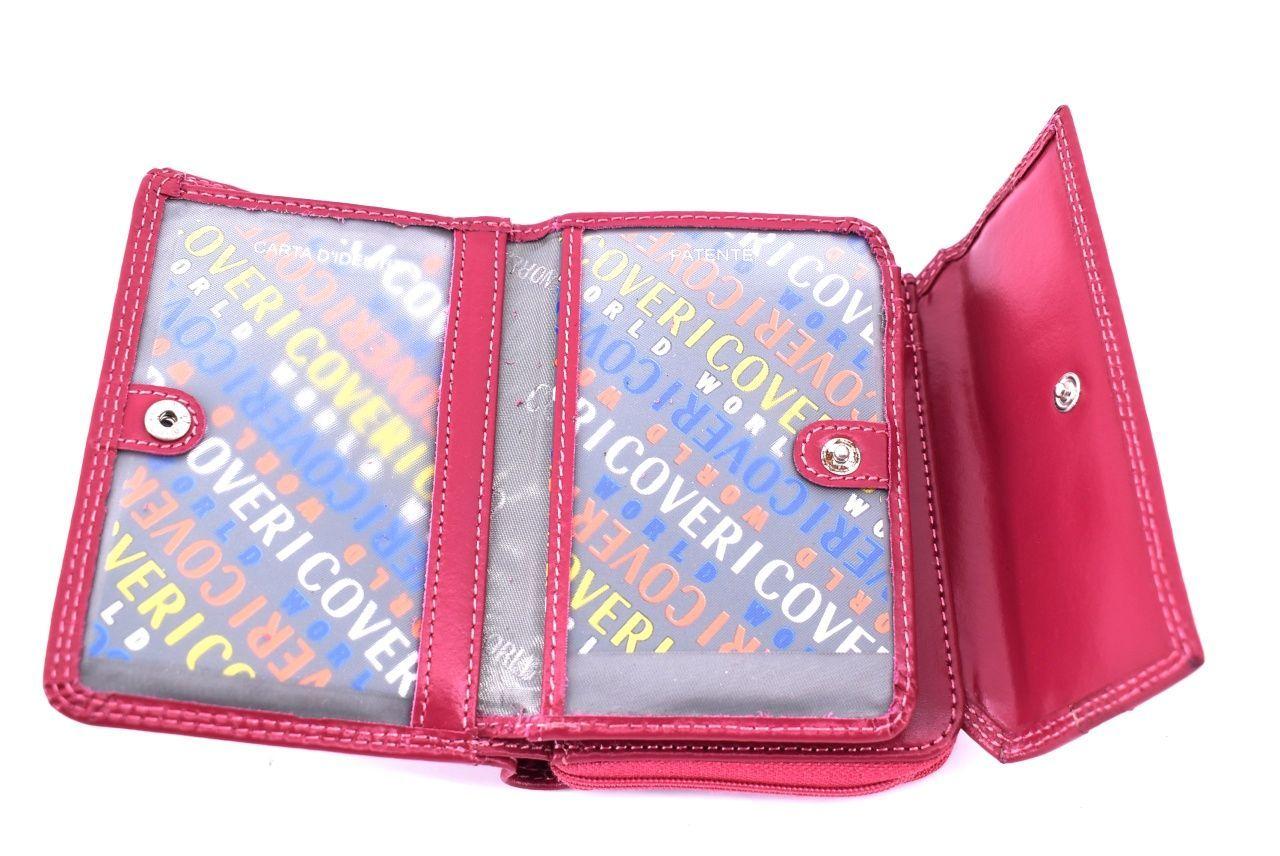 Dámská kožená peněženka Coveri World - černá 33290