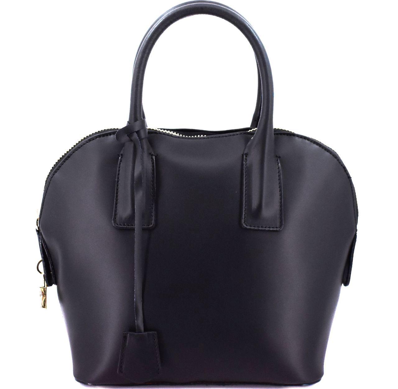 Dámská kožená kabelka Arteddy - černá 32400
