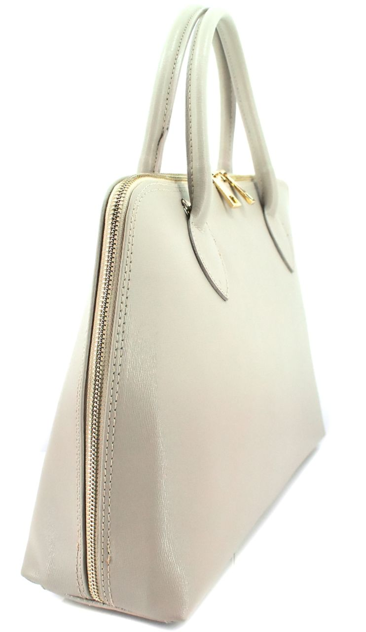 Dámská kožená kabelka Arteddy -světle bežová 32445