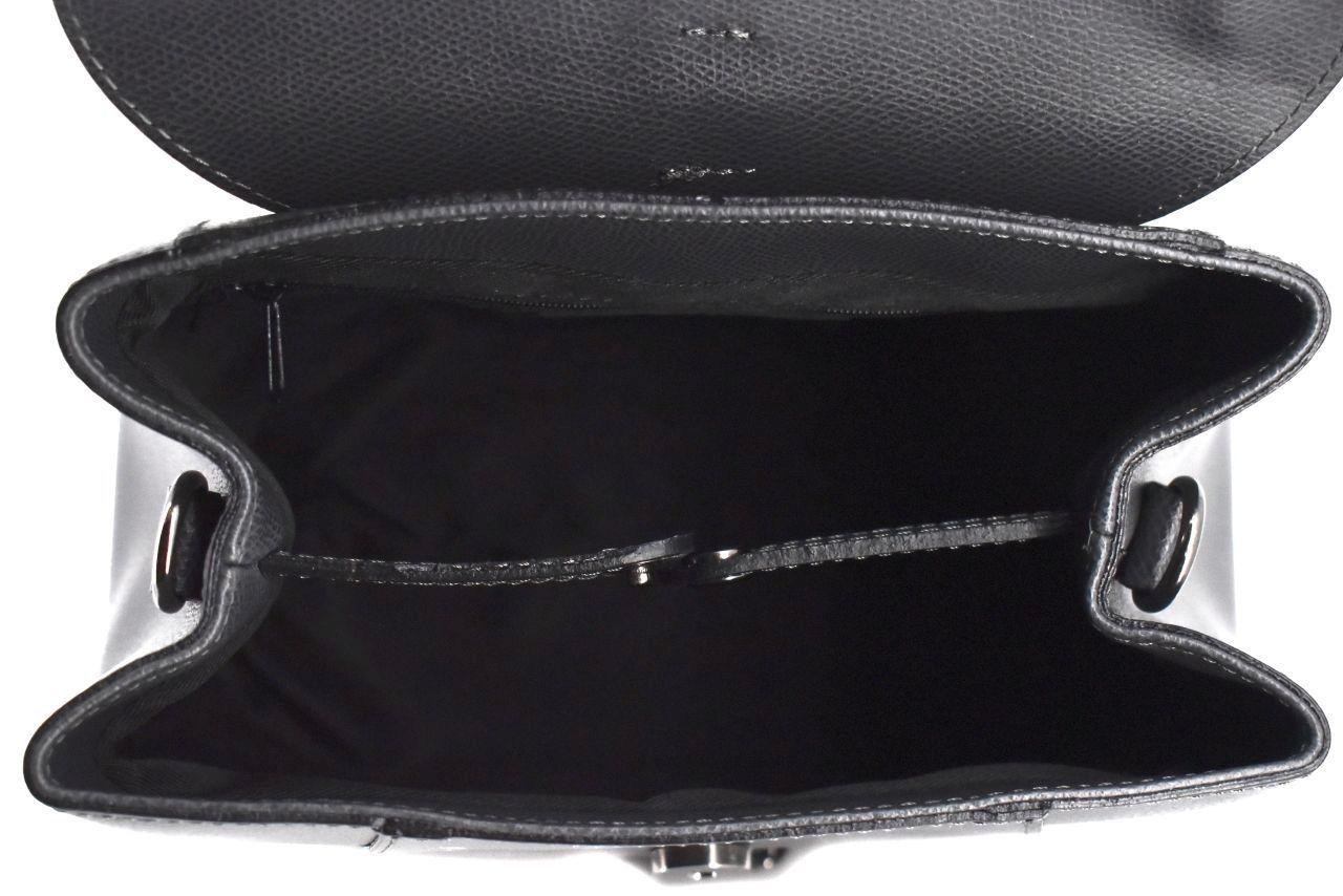 Dámská kožená kabelka/batůžek Arteddy - tmavě šedá 33897