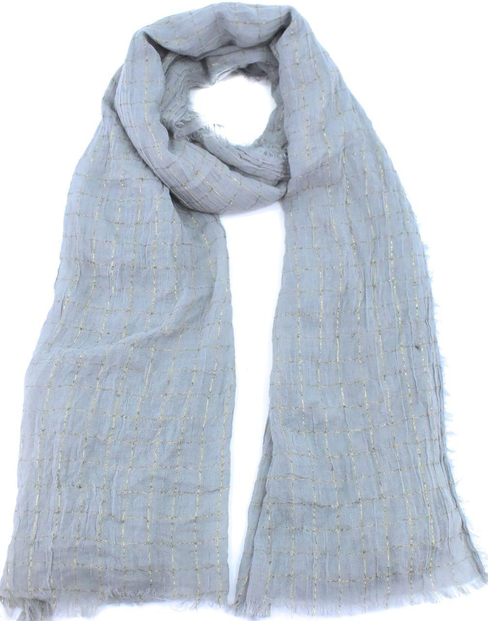 Dámský šátek - šedá