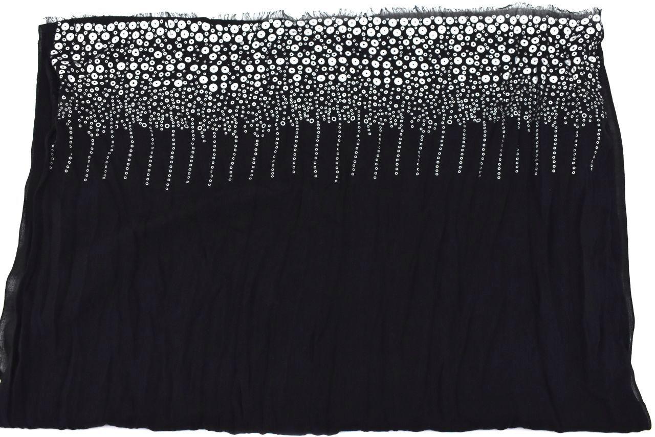 Moderní šátek - černá