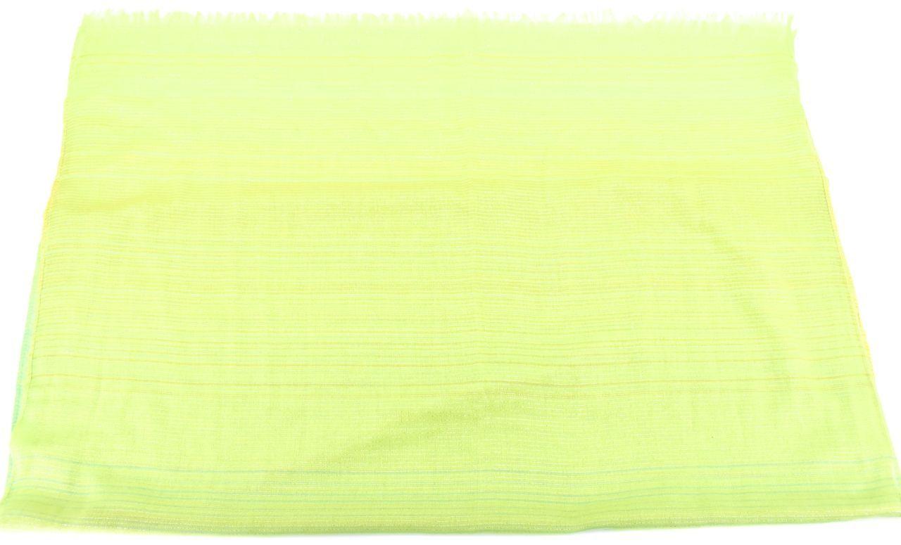 Moderní dámský šátek - žlutá/zelená
