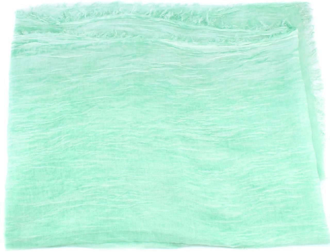 Dámský šátek Made in Italy - světle zelená