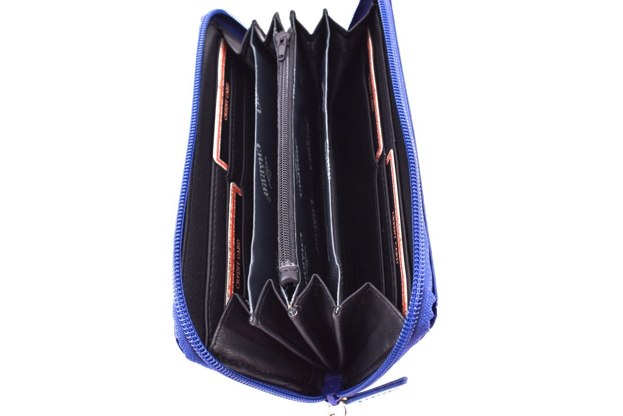 Dámská / dívčí peněženka pouzdrového typu - černá 35760