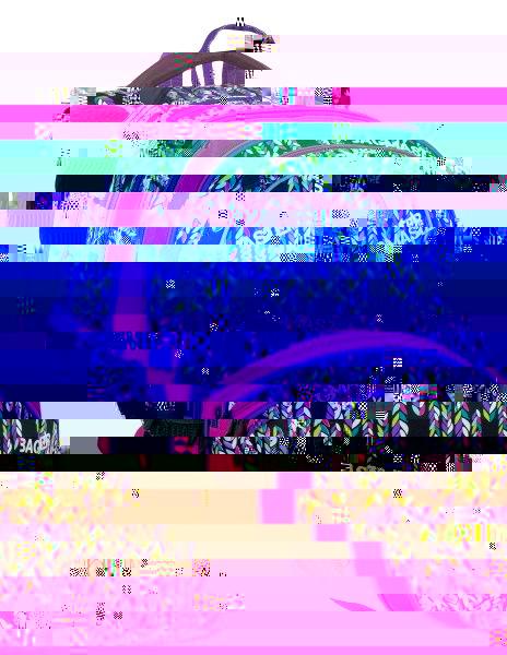 Dívčí školní batoh Bagmaster MADISON 7 B BLACK/PINK/VIOLET 8591805007759
