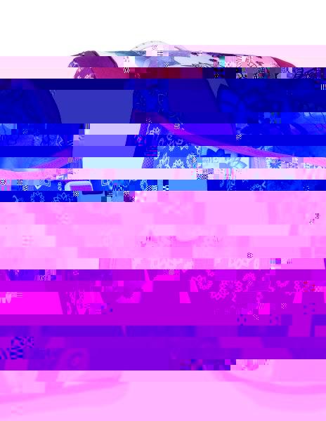 Dívčí školní batoh/aktovka pro prvňáčka Bagmaster POLO 6 A VIOLET/PINK 8591805006981