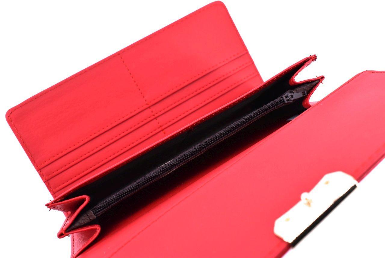 Dámská lakovaná peněženka - černá 34862