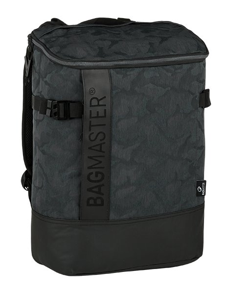 Městský batoh stylový BAGMASTER LINDER 9 B CAMO 8591805009883
