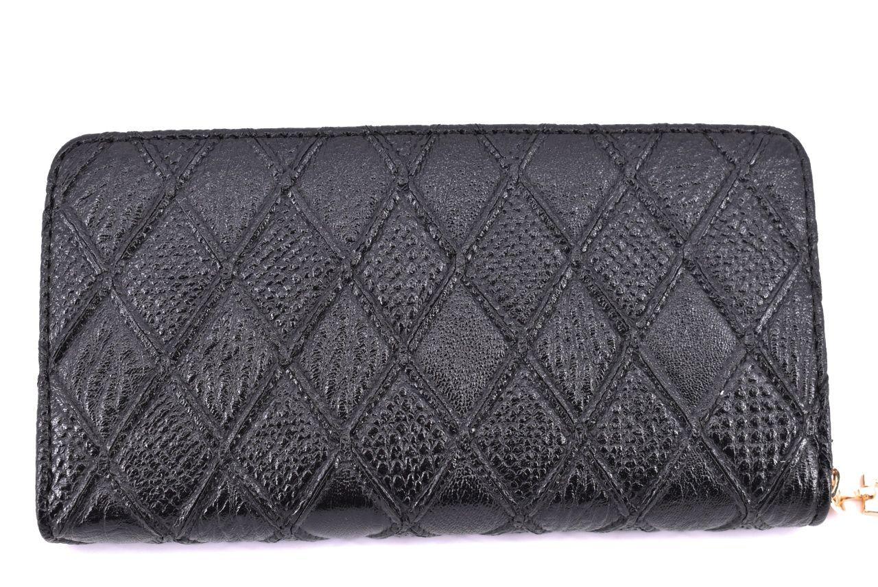 Dámská / dívčí peněženka pouzdrového typu - černá 30874