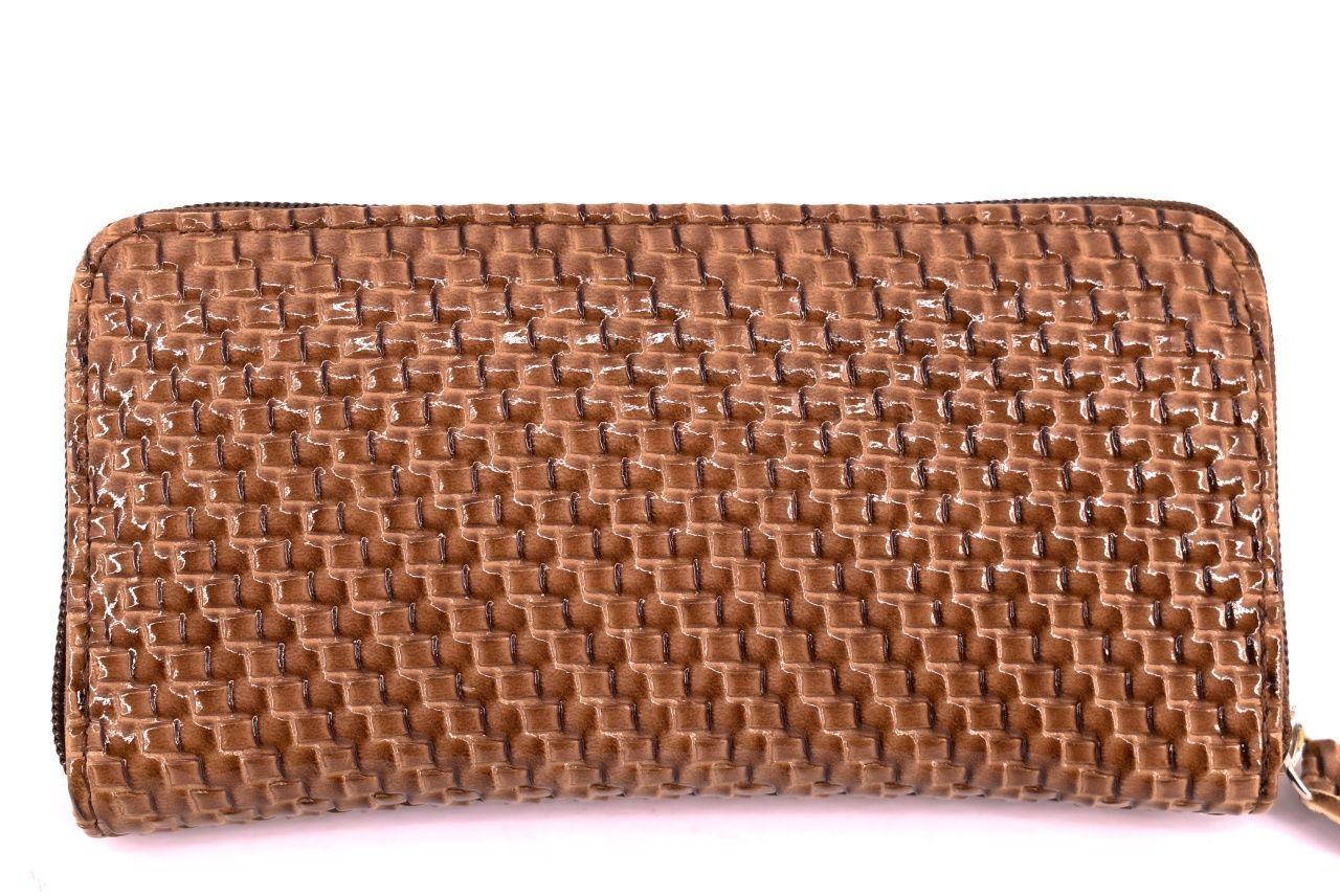 Dámská / dívčí peněženka pouzdrového typu - hnědá 26576