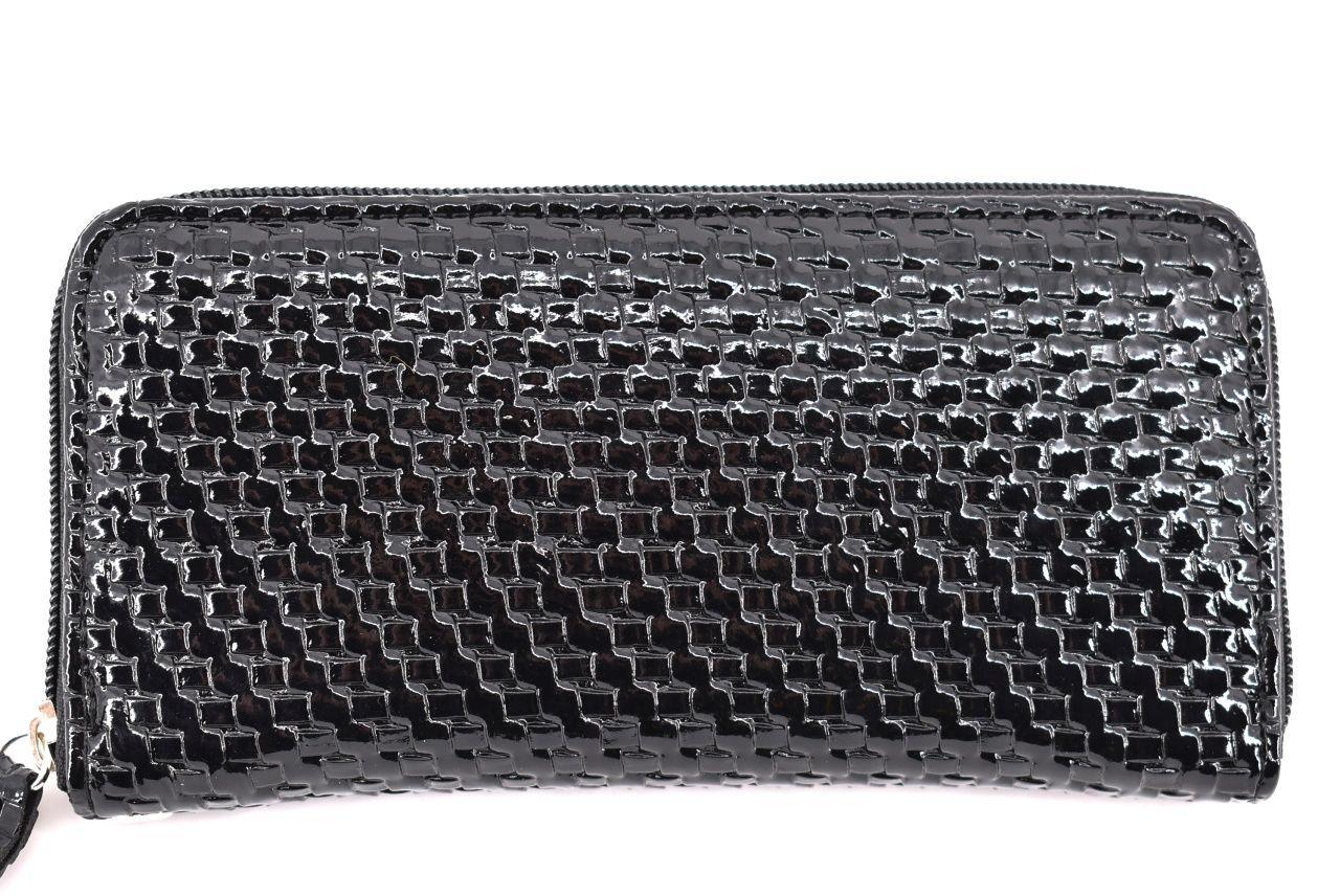 Dámská / dívčí peněženka pouzdrového typu - černá 26576