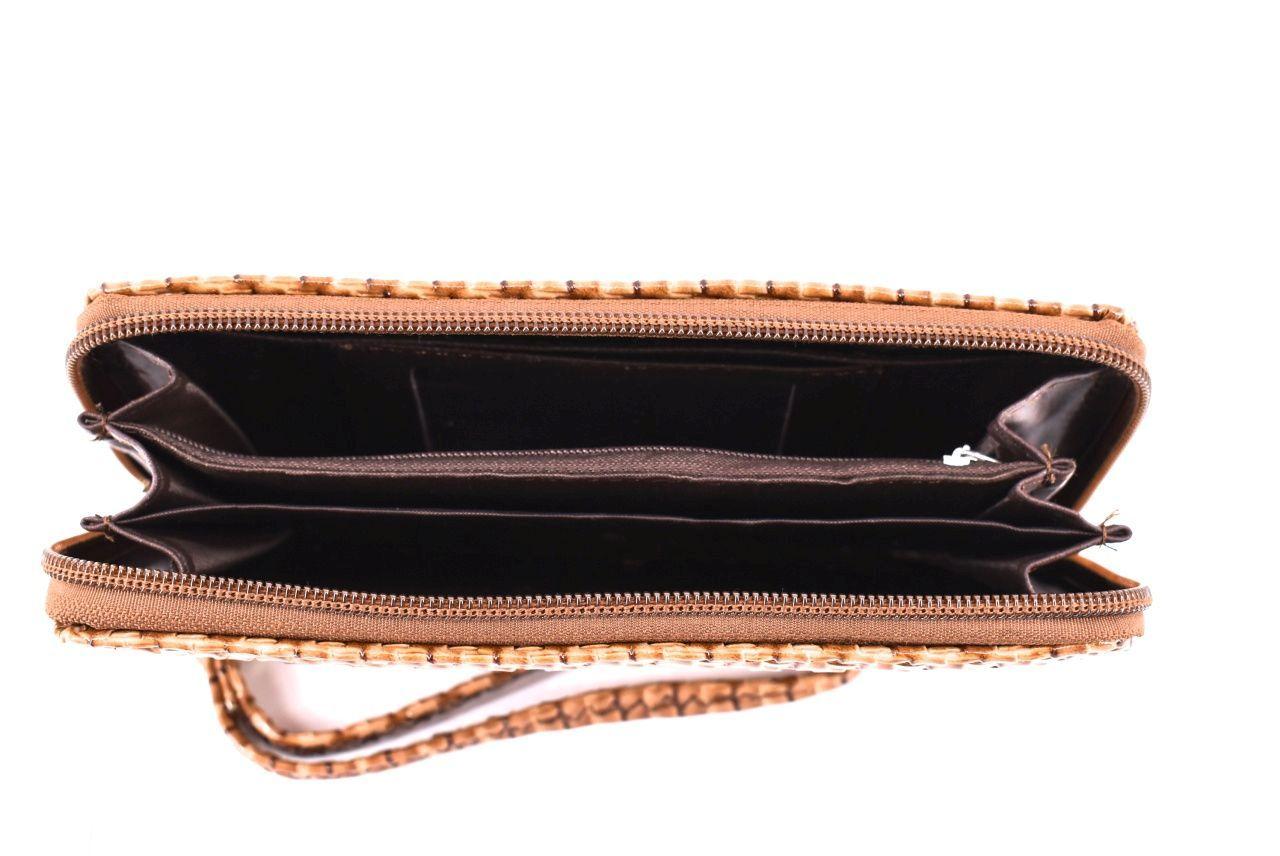 Dámská / dívčí peněženka pouzdrového typu - šedá 26576
