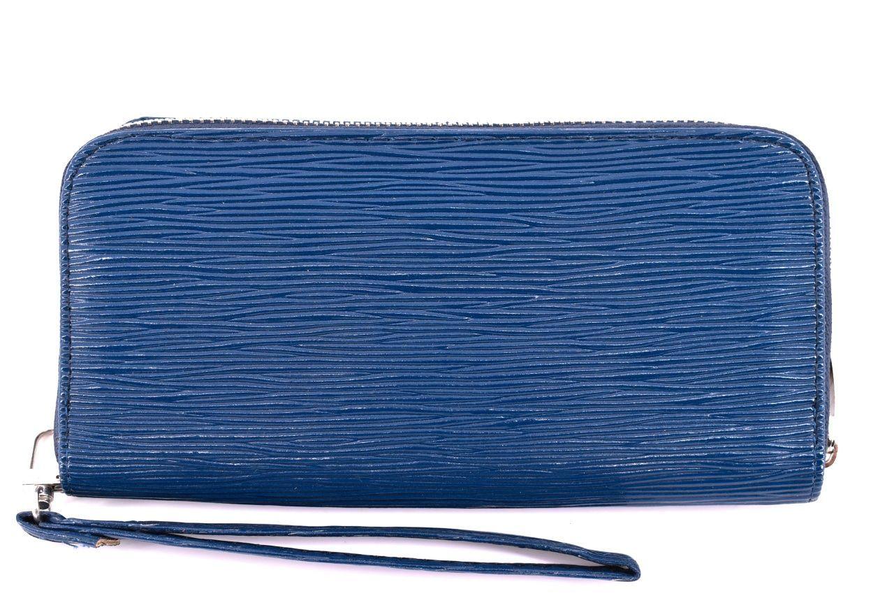 Dámská / dívčí peněženka pouzdrového typu - modrá 25687