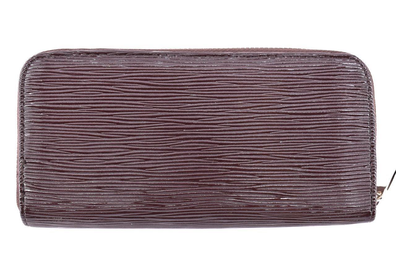 Dámská / dívčí peněženka pouzdrového typu - tmavě hnědá 25687